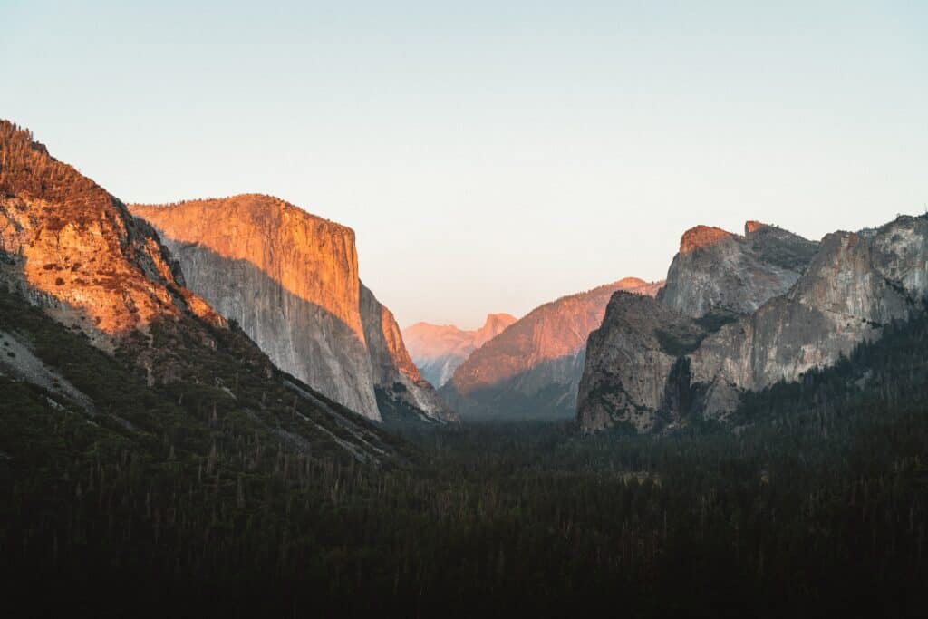 yosemite and sequoia national park itinerary