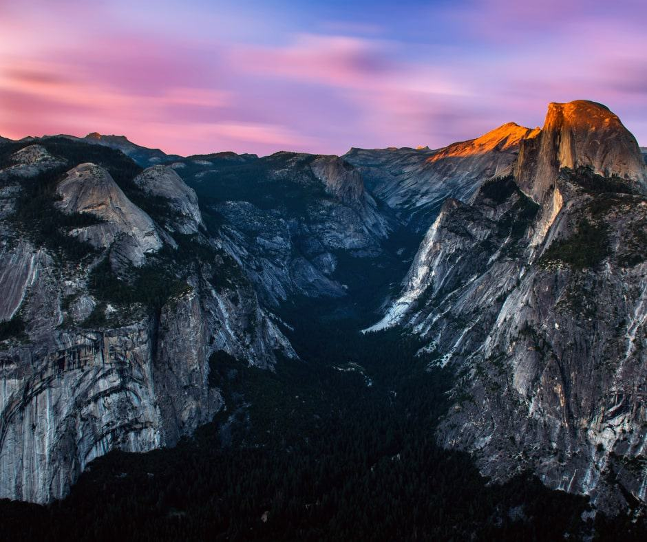 One day in Yosemite