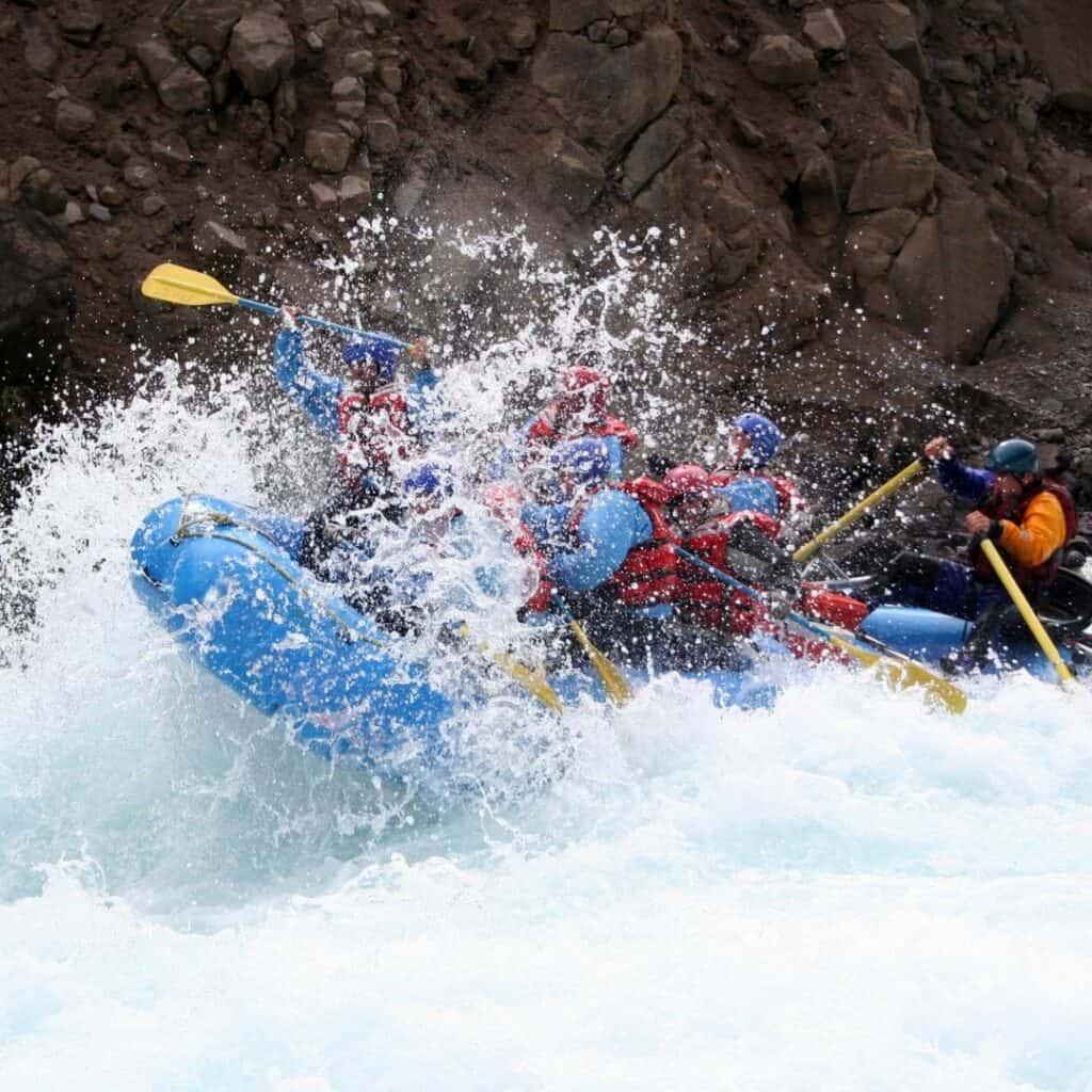 white water Rafting Yosemite