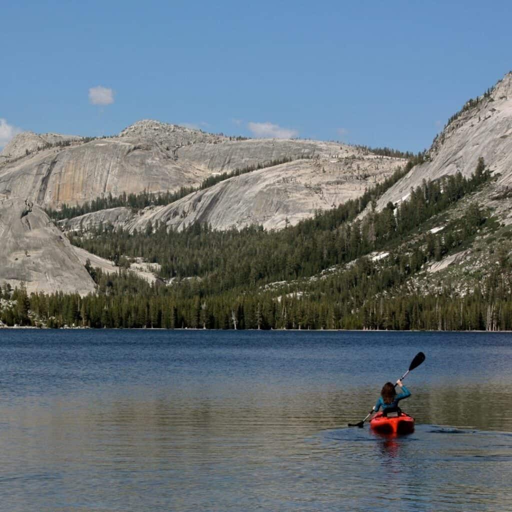 Yosemite Kayaking