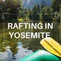 river rafting Yosemite
